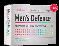 Менс Дефенс – отзыв на капсулы от простатита