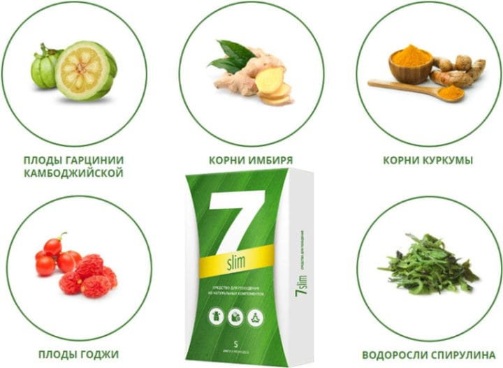 Состав 7 Слим для похудения