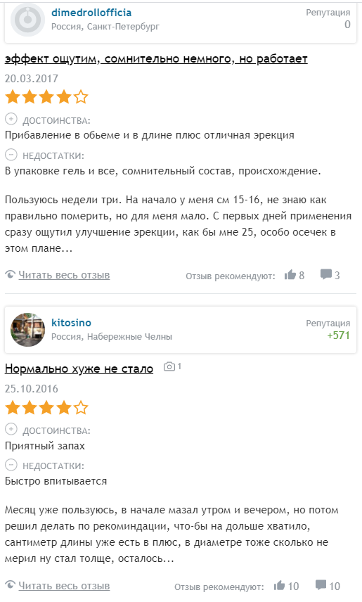 Отзывы покупателей