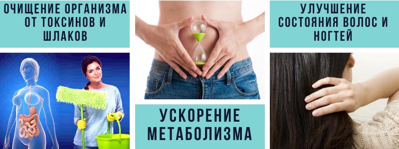очищение организма от шлаков и токсинов ускорение метаболизма